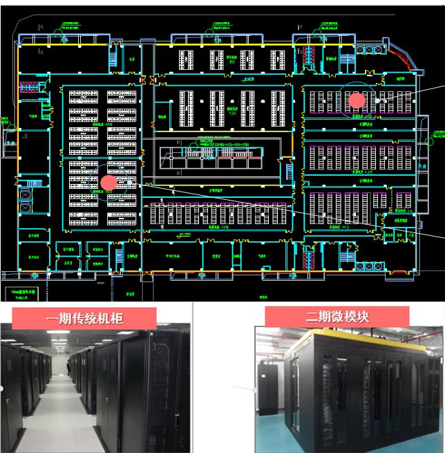 全网数据机房平面图
